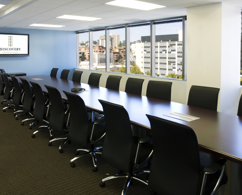 Deposition and Arbitration conference room