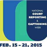 NCRA Court Reporting Captioning Week