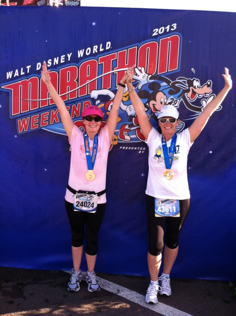 Linda Pool Wins Disney Race